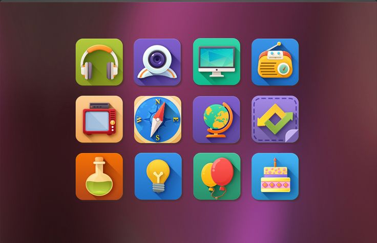 <p>A combination of the modern flat style with a more detailed approach, giving the icons a cool and modern vibe. The pack contains 76 icons, from general stuff to more unusual things.</p>