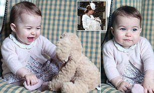 Prince William releases new photos of Prince Charlotte taken by mother Kate Middleton | Daily Mail Online
