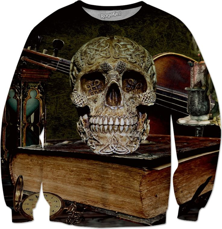 Check out my new product https://www.rageon.com/products/funny-skull-and-book-sweatshirt?aff=BWeX on RageOn!