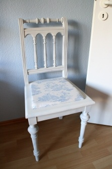 A new design for an old chair. DIY