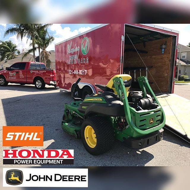 @john_deere_jd #janitorial #janitorialcleaning #janitorialservices @rz_industries #cleaningservice #clean #lawncareservice #lawncarelife #mowinggrass #landscape #cleanup #clean #deltona #debary #orlando #lakemary #heathrow #realtor #realtorlifestyle #realtors #watson #remax #century21 #orlando #cleanup #johndeere #stihlusa #diamondtrailers #lawncare_of_instagram #landscapepro #winterparkfl #lawncarecommunity #blessinghandslawncare #localrealtors - posted by Blessing Hands Lawn Care LLC…