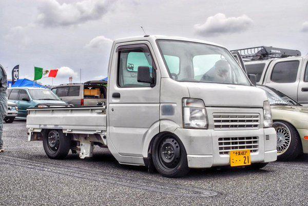 Suzuki Carry Truck   Lowered, Slammed, JDM   car stuff ...