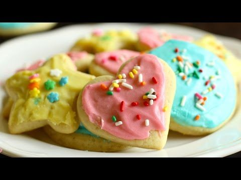 Soft Sugar Cookies with Icing Recipe- Hot Chocolate Hits - YouTube