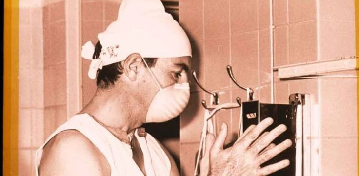 Heart surgeon, Dr. Christiaan Barnard.