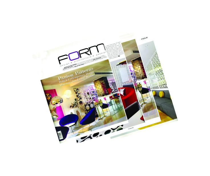 Luna2 studiotel featured on the cover of FORM magazine, Singapore. January 2014  #melaniehalldesign #formmagazine #luna2