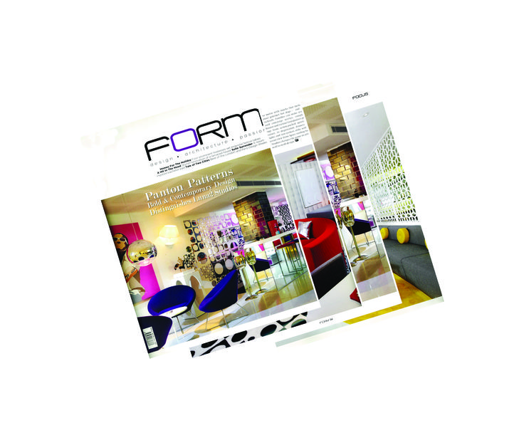 Luna2 studiotel featured on the cover of FORM magazine, Singapore. January 2014  #melaniehalldesign #formmagazine #luna2