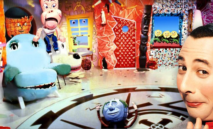 Pee Wee's playhouse. Used to watch this every Saturday....can't believe I remembered this show!