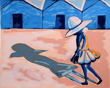 Charles Blackman: A part of his school girl series