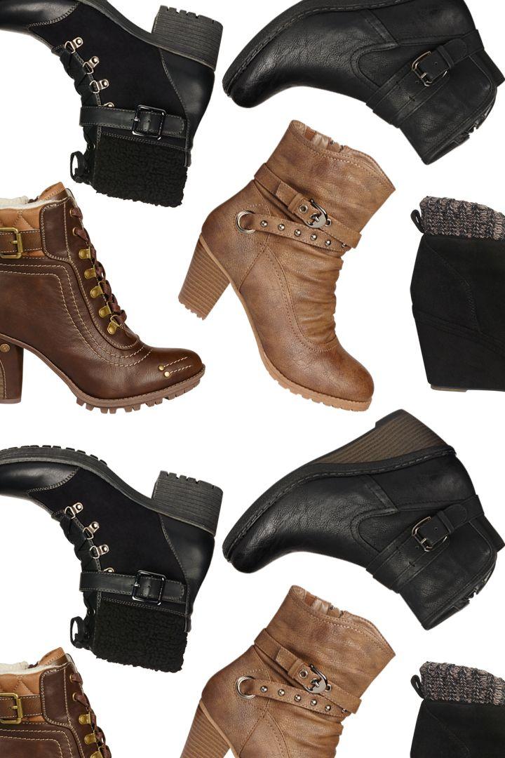 Botte courte, l'hybride entre le soulier et la botte haute #botte #bottillon #talon