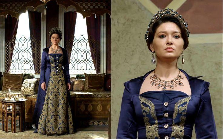 Muhtesem Yuzyil:Kosem costume recycle Previously... - Magnificent Wardrobe