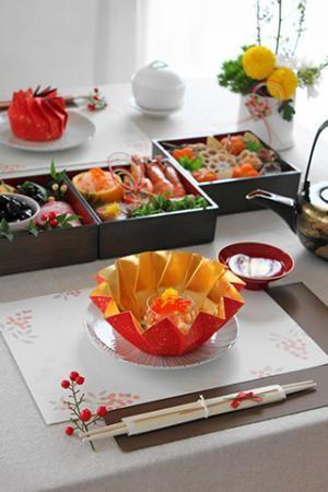 かめ代のかんたん!かわいい!おうちパーティー「お正月のテーブル」 | お菓子・パンのレシピや作り方【corecle*コレクル】