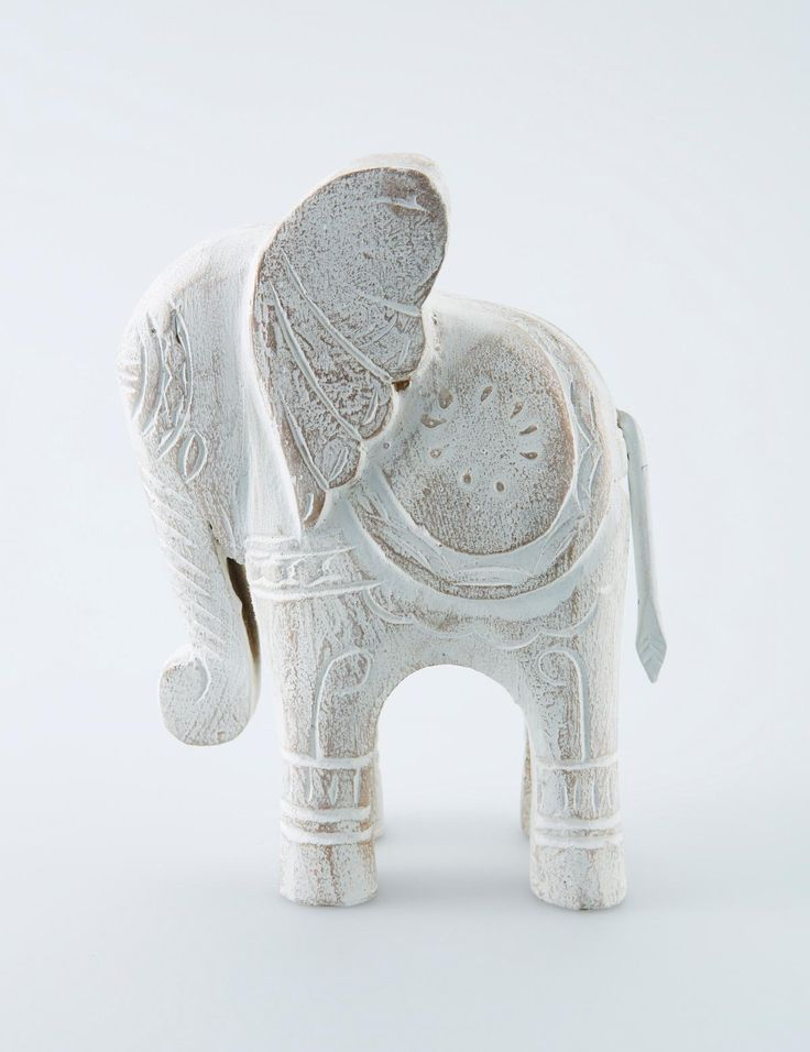 ELLY decoration white | Statues | null | Decoration | Interior | INDISKA Shop Online