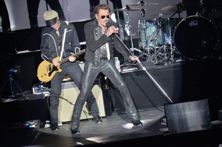 Johnny Hallyday at the Sporting of Monaco. July 2015