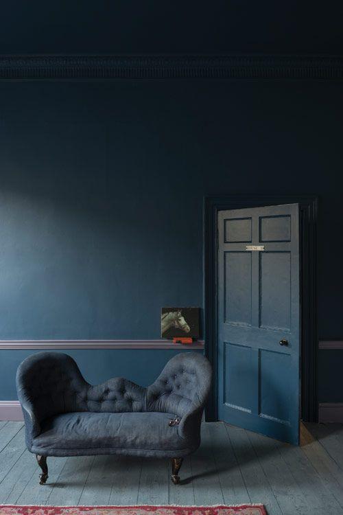 65 best Peinture images on Pinterest - peinture chambre gris et bleu
