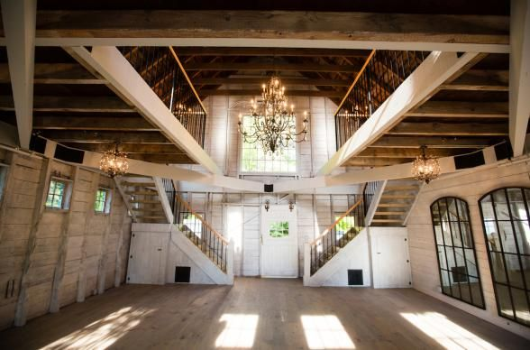 It's not hard to make a barn look beautiful. Events at our Joseph Decuis Farm have a very similar feel!