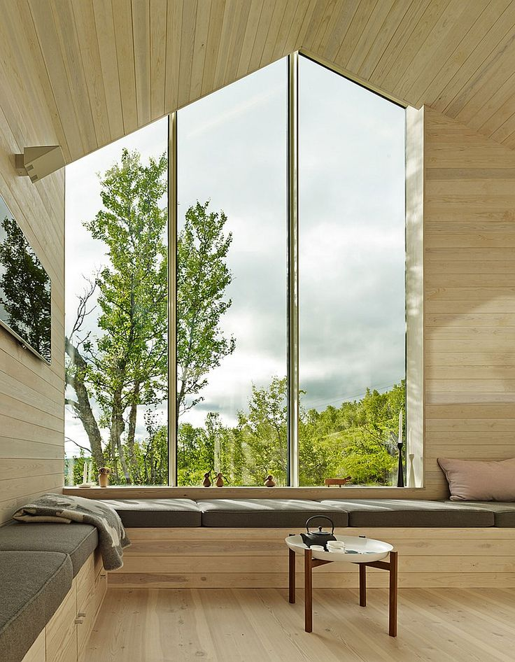 Ski In, Stroll Out: Reiulf Ramstad Designs a House for all Seasons in Norway…