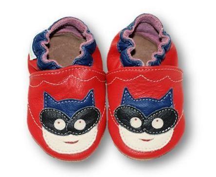 ekoTuptusie Superbohater Czerwień Soft Sole Shoes Super Hero Red Les chaussures pour enfants Krabbelshuhe Crib Shoes https://www.fiorino.eu/sklep/