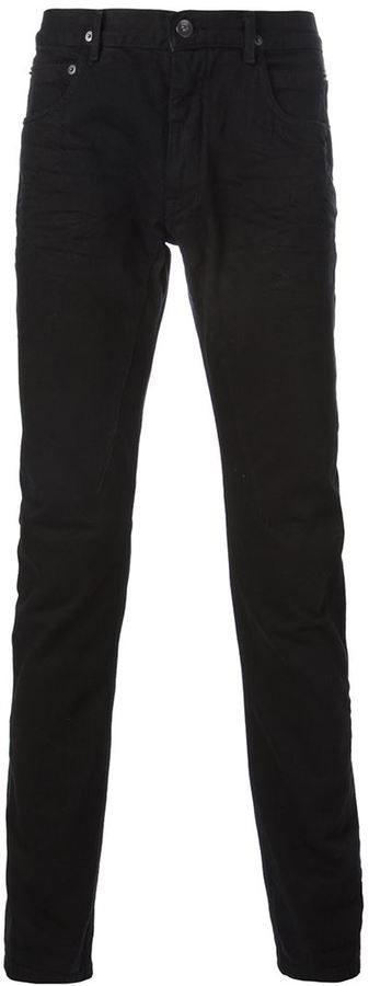 $465, Drkshdw Skinny Jeans by Rick Owens. Sold by farfetch.com. Click for more info: http://lookastic.com/men/shop_items/140080/redirect