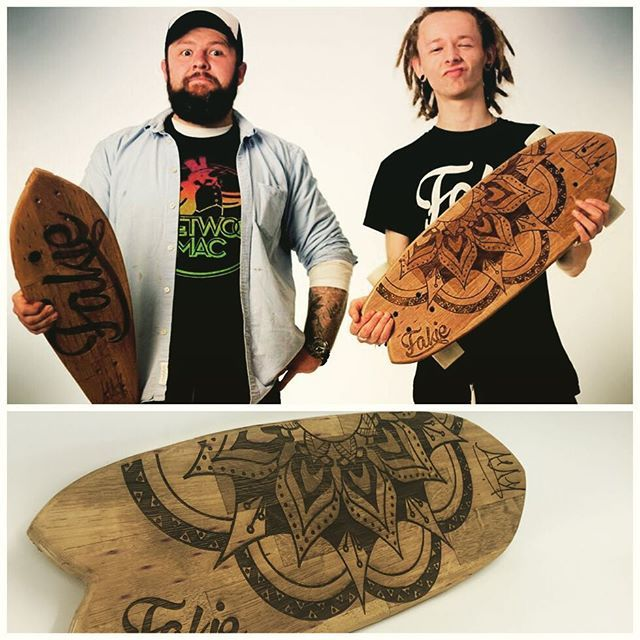 Oban whisky barrel skateboards.