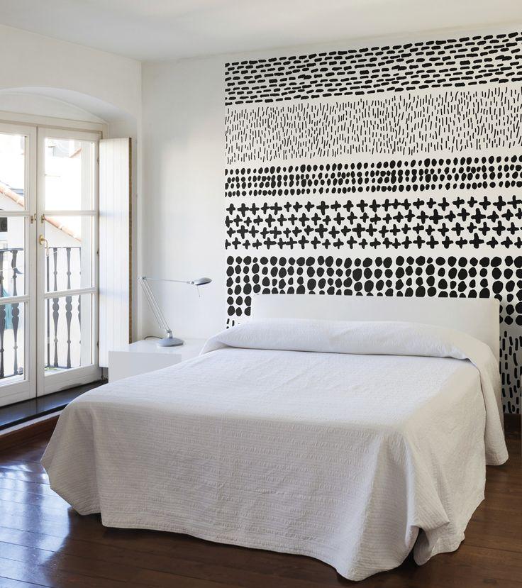 Field / non-woven mural / lavmi