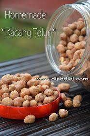 Diah Didi's Kitchen: Membuat Sendiri Kacang Telur Renyah