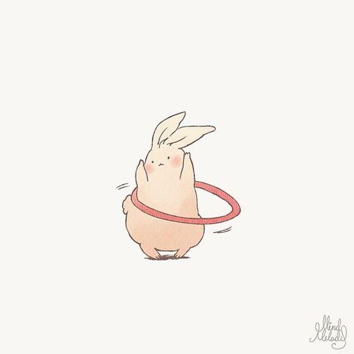 Chubby bunny//...it actually looks exactly like my bunny Bently!