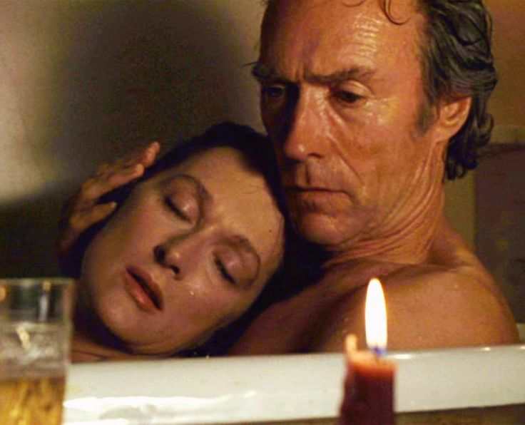 """With Clint Eastwood, """"The Bridges of Madison County""""  (1995)"""