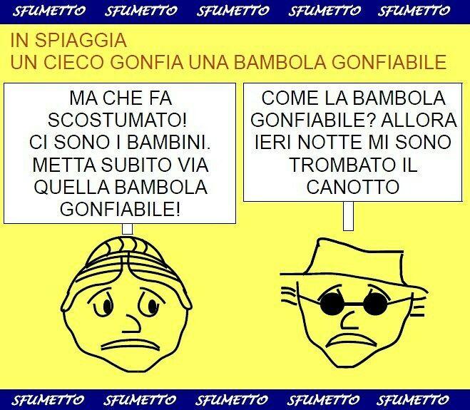 http://www.sfumetto.net/barzellette_divertentissime.html #barzellette #umorismo #ridere