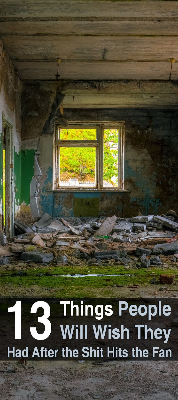 When the SHTF, people with no skills or supplies will quickly realize that a few basic survival items can mean the difference between life and death.