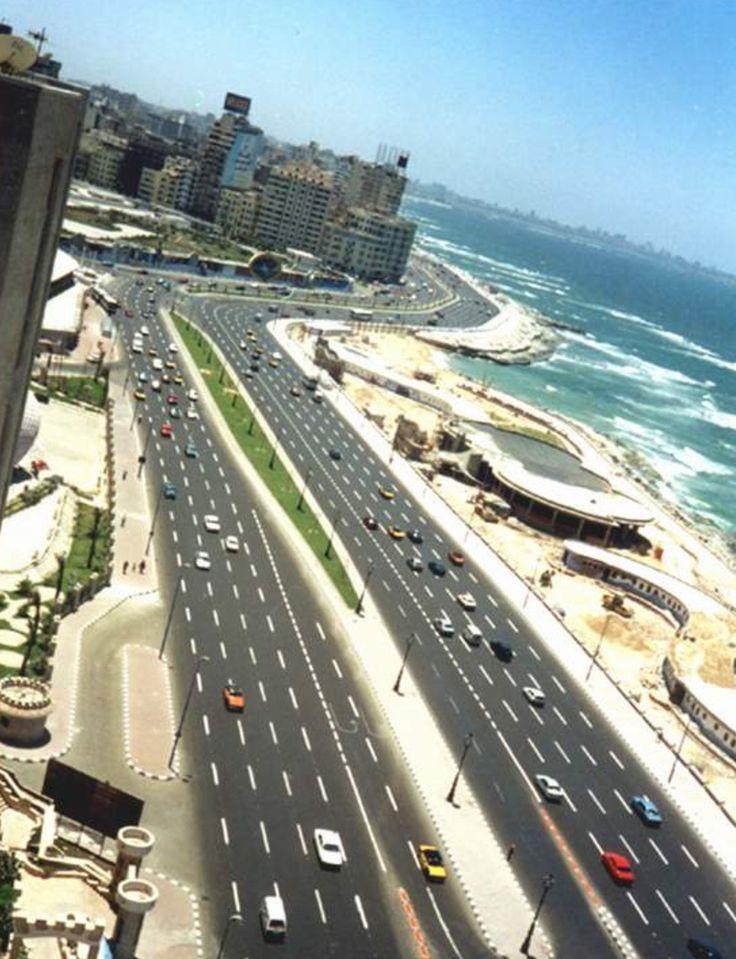 street at Alexandria, Egypt