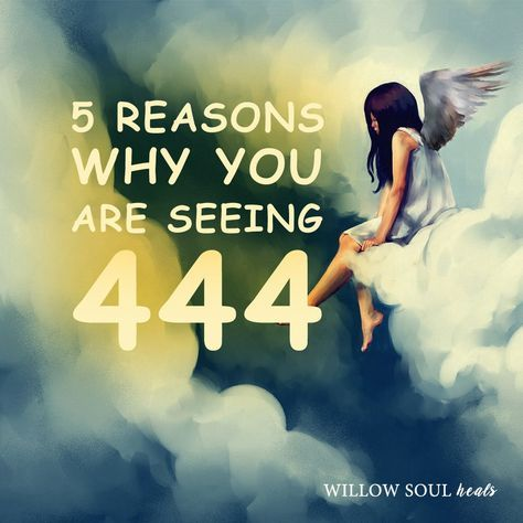 Do you repetitively see 444? Seeing 3-digit number patterns like 444 is a sign that you're receiving divine messages from higher realms. These messages might