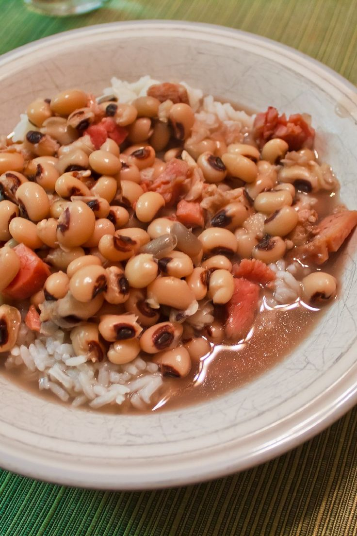 Weight Watchers Southern Black-Eyed Peas Recipe - 6 Smart Points
