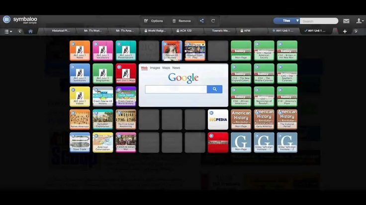 Combining Google Drive With Symbaloo Video