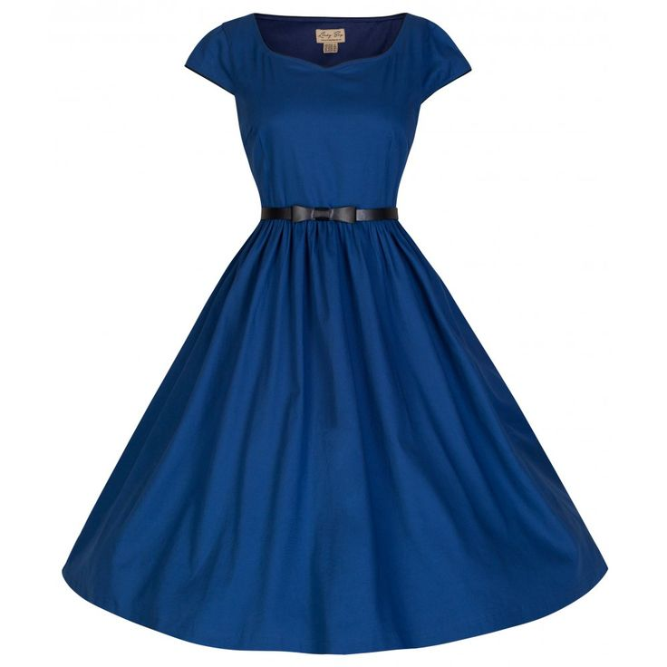 'Tare' Eye-Catching Audrey Hepburn 50's Vintage Inspired Swing Dress