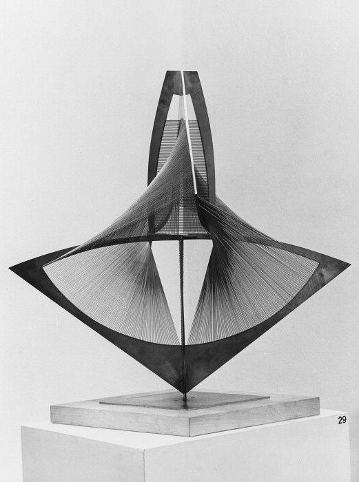 torsion no. 3... - (naum gabo)(sculpture) - #naumgabo #torsion #sculpture