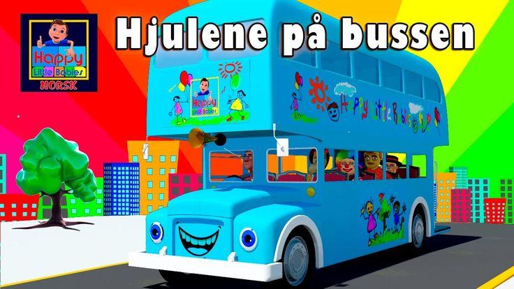 Hjulene på bussen | Norske Barnesanger