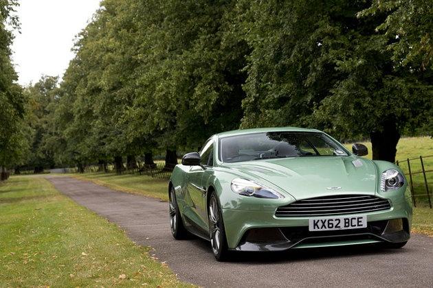 No, Mr. Bond, I expect you to vroooooom: the 2014 Aston Martin Vanquish #skyfall #jamesbond