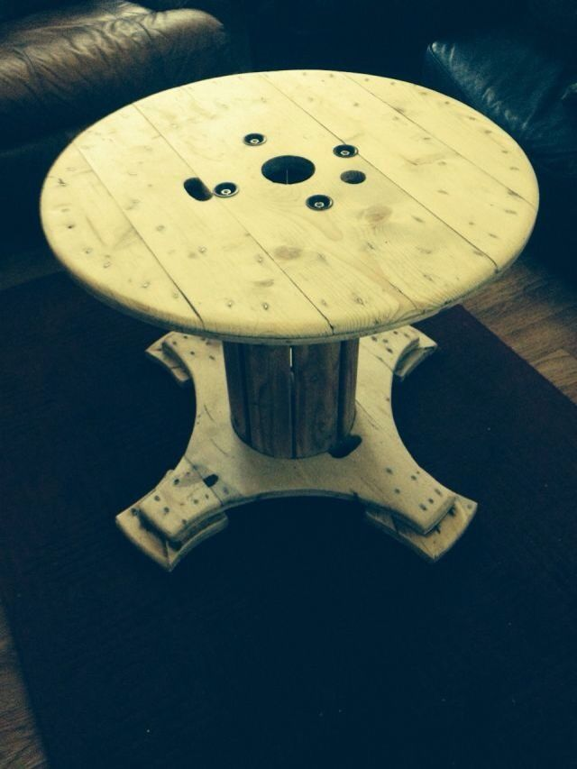 31 Best Cable Drum Images On Pinterest Wood Spool