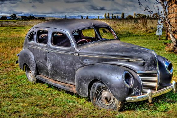 1941 Ford Mercury by Photofusion on Etsy, $35.00