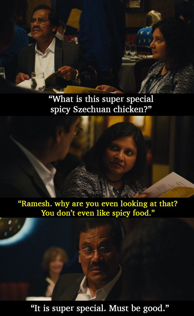 "And this exchange between Shoukath and Fatima. | Aziz Ansari's Parents Are Simply Amazing In ""Master Of None"""