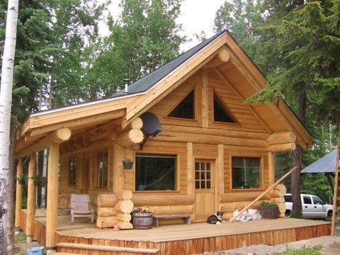 Harrison Log Homes/ timber frame/ post and beam