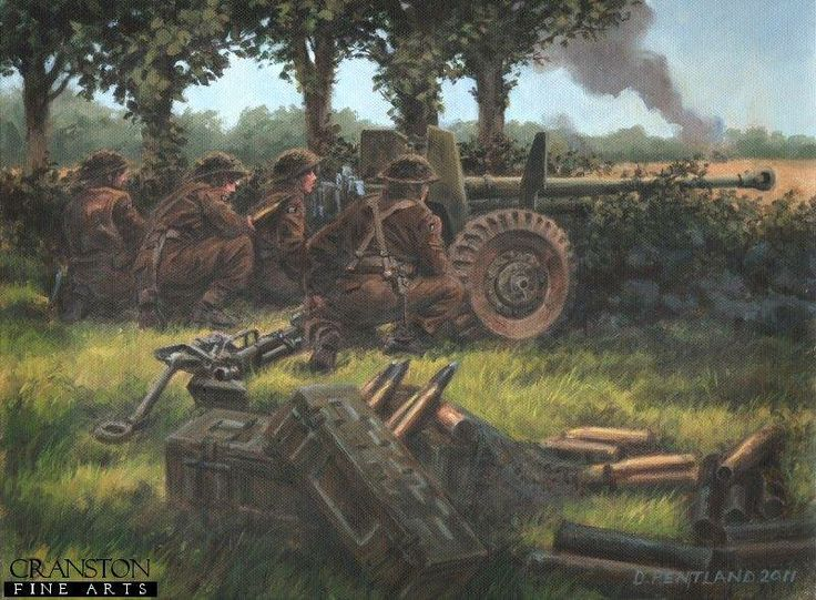 German 50 Mm Anti Tank Gun: 1er Juillet 1944 - 1st July 1944