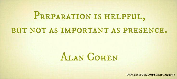 Alan Cohen: Presence