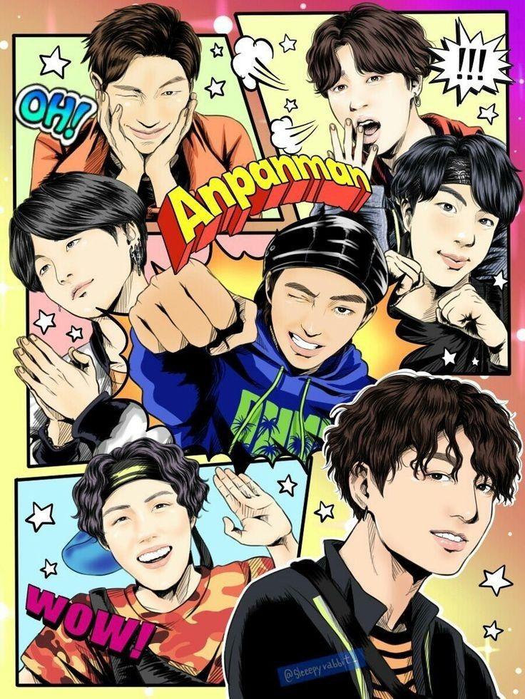 download video bts anpanman bt21 debut stage
