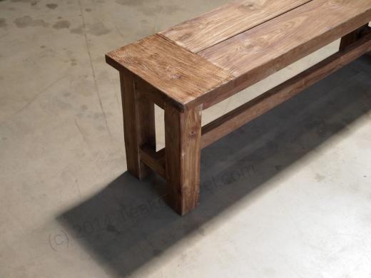 2017 Gartenbank Holz Ohne Lehne