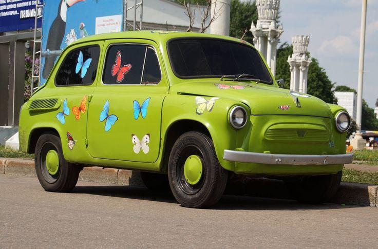 Soviet mini car Zaporozhets (ZAZ)