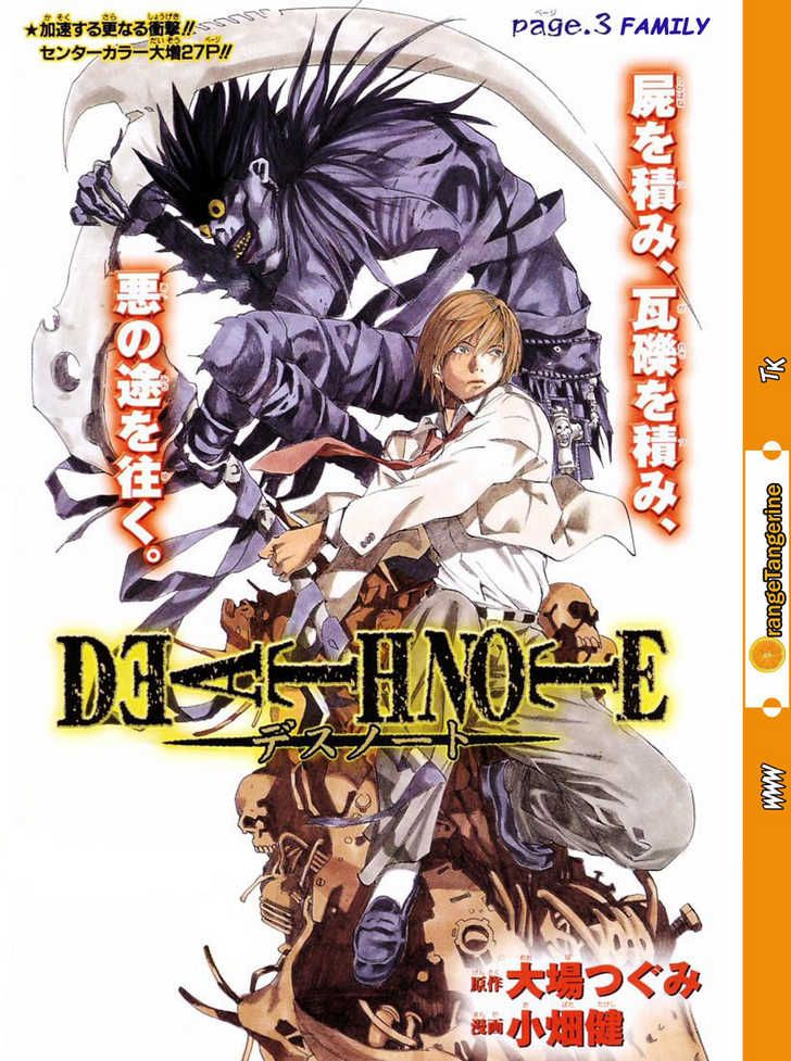Death Note 3, Death Note 3 Page 1 - Read Free Manga Online at Ten Manga