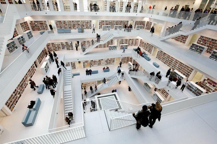 biblioteca na Alemanha