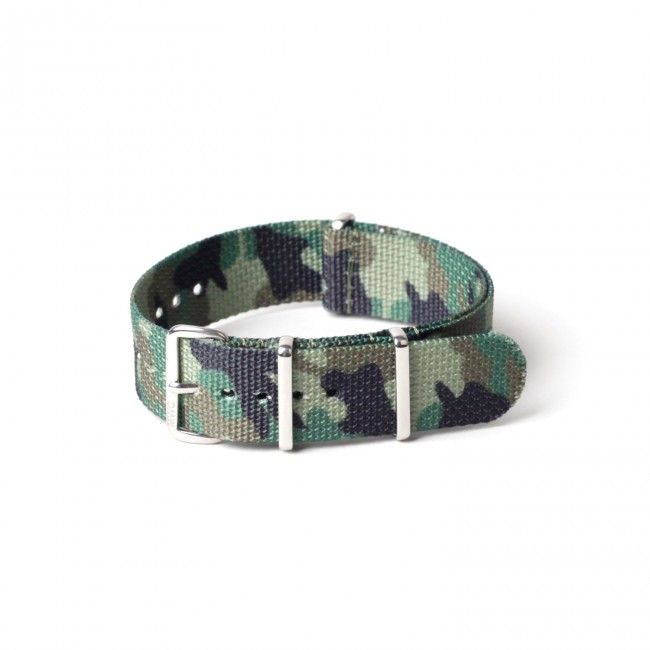 MWC 20mm NATO Strap (Woodland Camouflage) | Military Watch Company | Brands