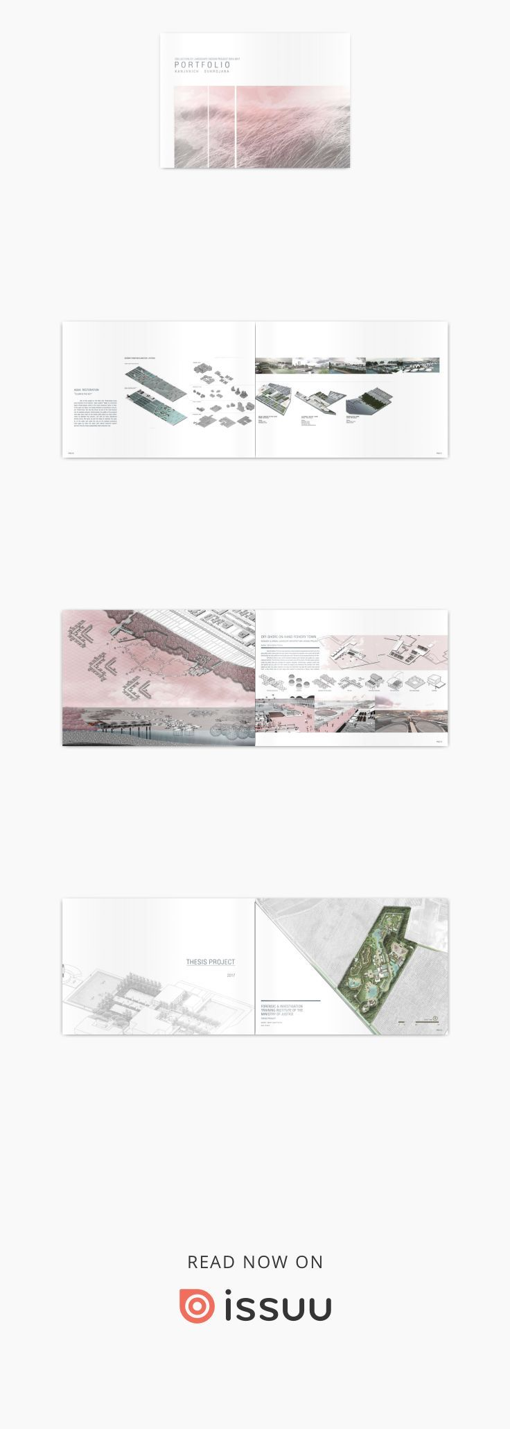 Kanjanich Sukrojana Landscape Architect Portfolio 2017  (B. L.A.) Landscape Architect A collection of Landscape Design projects 2013-2017